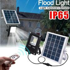 Outdoor 20LED Solar Power 10W IP65 Flood Light Street Lamp with Remote Control