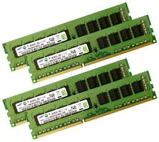 4x 8gb 32gb ddr3 ECC UDIMM RAM pc3-12800e 1600 MHz ProLiant ml310e gen8 v1 + v2