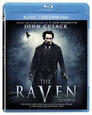 The Raven (Blu-ray + DVD) John Cusack, Luke Evans, Alice Eve NEW