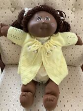 Coleco Cabbage Patch Appalachian Black American Doll Xavier Roberts '84 1-Dimple