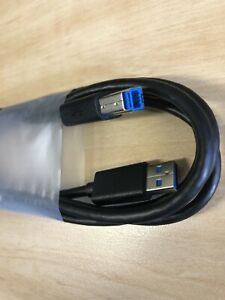 DELL GENUINE USB 3.0 SUPERSPEED MALE TYPE A TO B 6FT UPSTREAM CABLE
