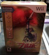 Legend of Zelda Skyward Sword Wii Complete Collectors Edition 2011 SEALED