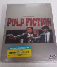 Pulp Fiction Blu-Ray Exclusive Steelbook NEW SEALED