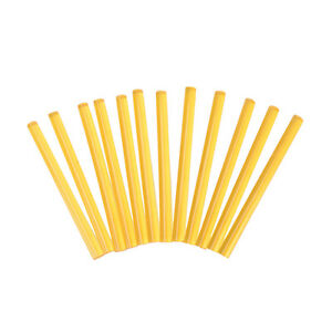 12 x Professional Keratin Glue Sticks for Human Hair Extensions YellowXBUKU Cw