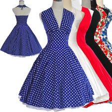 Marilyn Monroe 50s 60s Style Vintage Retro TEA Dress Rockabilly Party Dresses
