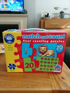 ORCHARD TOYS MATCH AND COUNT ACTIVITY PUZZLES AGE 3+