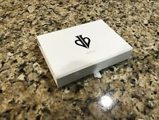 David Blaine Playing Cards Deck Empty Storage White Tour Box Case