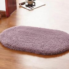 Toilet Mat Bathroom Carpet Oval Douche Geometric Pad Home Kitchen Microfiber Rug