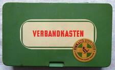 ALTER VERBANDKASTEN - MIT INHALT - AUTO OLDTIMER - FINK & CO. - BLECH