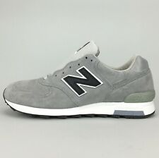 New Balance x J. Crew 1400 Men's Shoes Gray White Suede Made in USA M1400G