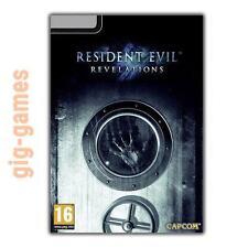 Resident Evil Revelations PC spiel Steam Download Link DE/EU/USA Key Code