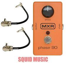 MXR Phase 90 Guitar Effects Pedal M101 ( 2 MXR PATCH CABLES ) M-101