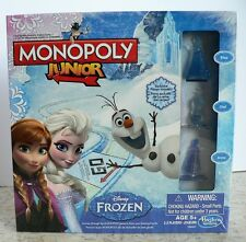 NEW FROZEN Disney MONOPOLY Edition 2014 SEALED Exclusive Frozen Tokens