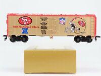 HO Scale Mantua NFL San Francisco 49ers Super Bowl Champions 40' Box Car RTR