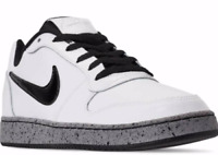Nike Ebernon Low Men's Running Training Shoes White/Black Size 11.5