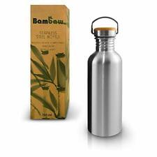 Gourde Inox Ecologique en Acier Inoxydable Sans BPA Bouteille Eau Sport Étanche