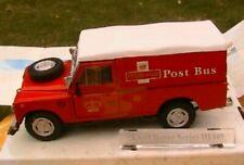 LAND ROVER SERIES III 109 ROYAL MAIL POST BUS CARARAMA 1/43 RED ROUGE