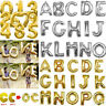 Foil Letter Number Balloon A-Z Alphabet Wedding Party Decor Name Air Fill Gifts