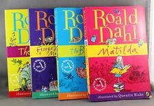 4 x Roald Dahl Paperbacks-Matilda,The BFG,The Twits,George's Marvellous Medicine