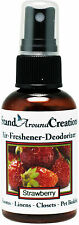 Premium Concentrated Air Freshener  - 2oz - Scent: Strawberry / Room Deodorizer