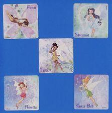 15 Disney Fairies - Large Stickers - Tinker Bell, Fawn, Silvermist, Iridessa