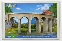 BNIB N GAUGE KIBRI 37664 RAIL OVER CURVED VIADUCT BRIDGE KIT