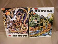 """Lot of 2! Haxtur Collection """"Trinca"""" Hardcover in Spanish - 1970 - See Photos!"""
