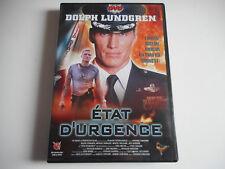DVD - ETAT D'URGENCE - DOLPH LUNDGREN - ZONE 2