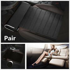 Pair Wear-Resistant Leather Car Seat Cushion Foot Support Leg Support Pillow New