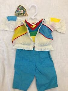 Vintage Cabbage Patch Kids Clothes Doll CPK Outfit Pants Jacket 3 Pc Set