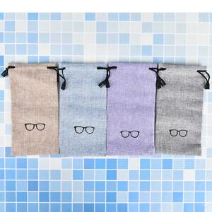 Portable Sunglasses Eyeglasses Bag Eyewear Protector Pouch Bag Gifts Bag BDZY
