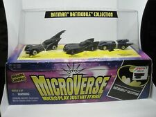 1996 Hasbro Kenner Microverse Batman Batmobile Collection (New in Package)