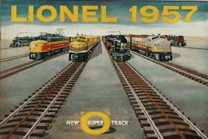 1957 Catalog - Lionel Toy Trains - Great Condition