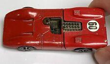 Red Enamel Ferrari 312P US Hot Wheels Redline 1969 Nice Original