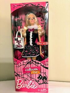 NIB Only at Target Halloween Star Barbie Made by Mattel 2011