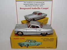 ATLAS DINKY BORGWARD ISABELLA COUPE SILVER 549 MODEL CAR
