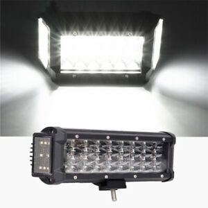 7 Inch 9D 200W LED Work Light Bar DRL Fog Lamp Offroad Truck Pickup Lighting 1x