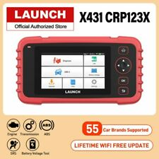Launch X431 CRP123X OBD2 Code Reader Scanner Creader Airbag ABS SRS AT UK Stock