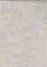 Tan and Blue Faux Marble Look Wallpaper  63625