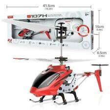 Syma S107h 2.4g 3ch Remote Control Electric Helicopter Gyro (red/yellow)