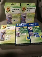 Duck Brand Window Insulation Kits - Window Film - Several kits to choose from