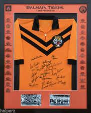 Jersey Wests Tigers Signed NRL & Rugby League Memorabilia