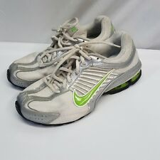 super popular 642f1 caf3a Nike Reax Run 4 Size 8 White Green Running Women s Shoes 366614-131 2009