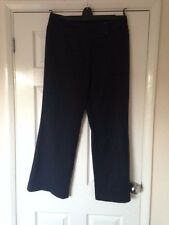 Next  Ladies black stripped Trousers Size 14R