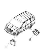 Genuine MOPAR Anti-Lock Brake System Module 68030939AB