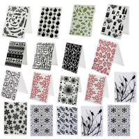 lastic Embossing Folder Template DIY Scrapbooking Paper Cards Making DIY Crafts