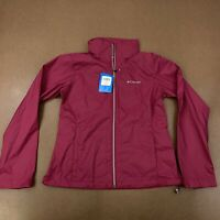 Columbia Women's Size Medium Pink Switchback III Waterproof Jacket WL0127 NWT