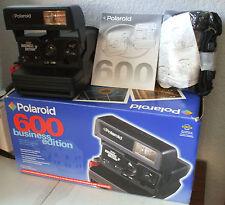 Polaroid 600 Instant Film Camera - Business Edition 2 + Box Manual & Bag TESTED