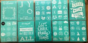 Chalk Couture Size A & B Silkscreen Transfers Retired YOU CHOOSE Free Shipping