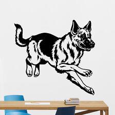 German Shepherd K9 Dog Wall Decal Nursery Poster Vinyl Sticker Decor Mural 36aaa